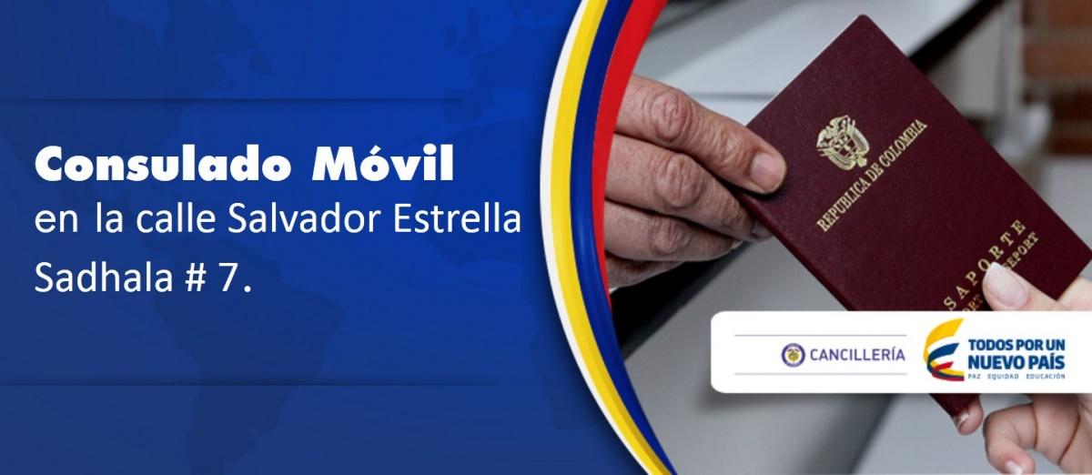 Consulado de Colombia en Santo Domingo, trámites el 23 de mayo en el Consulado Móvil