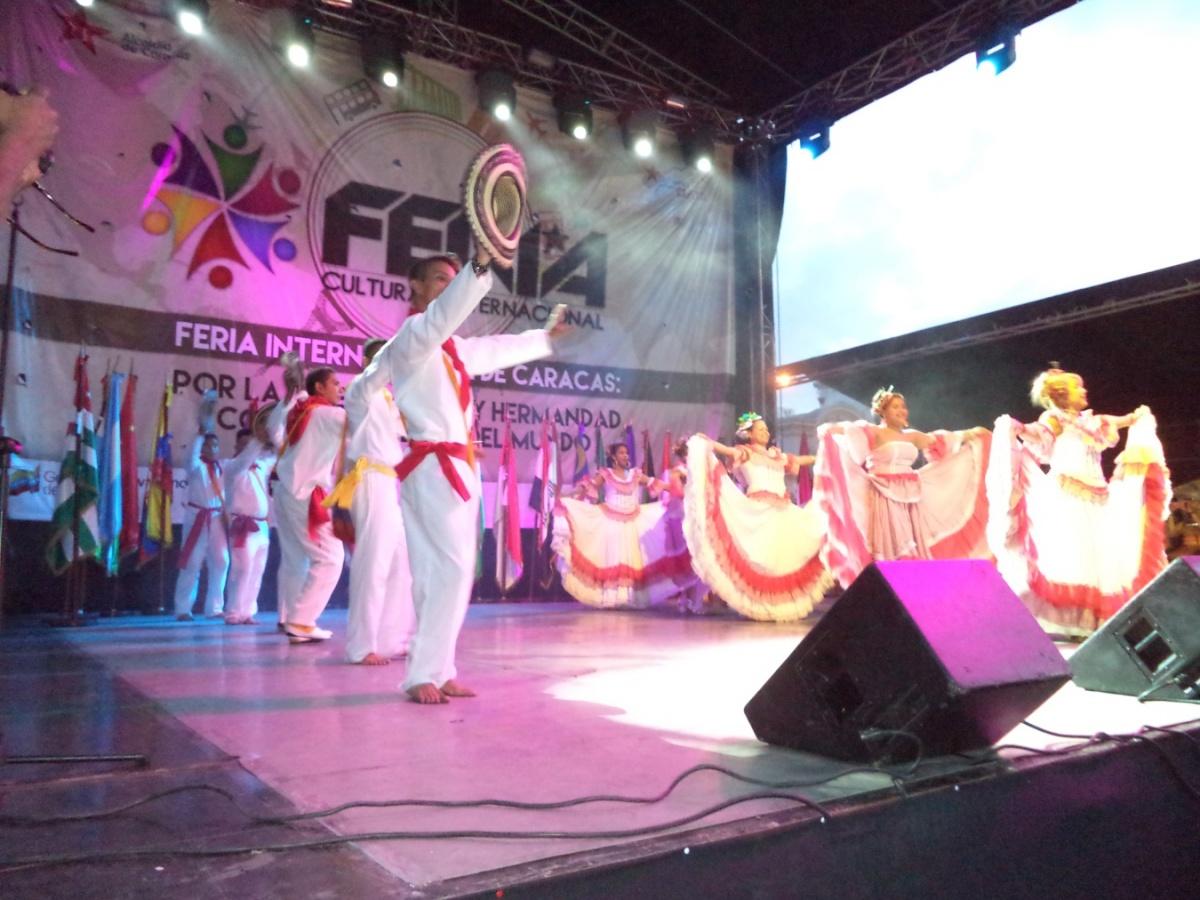 Embajada de Colombia en Venezuela, Exitosa presentación de Colombia en Feria Internacional de Caracas