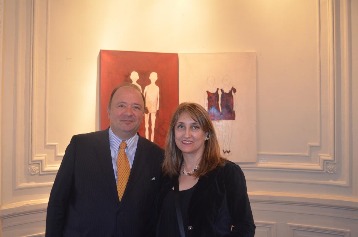 exposición Traverse, Ana Patricia Palacios, residencia de la Embajada en Washington