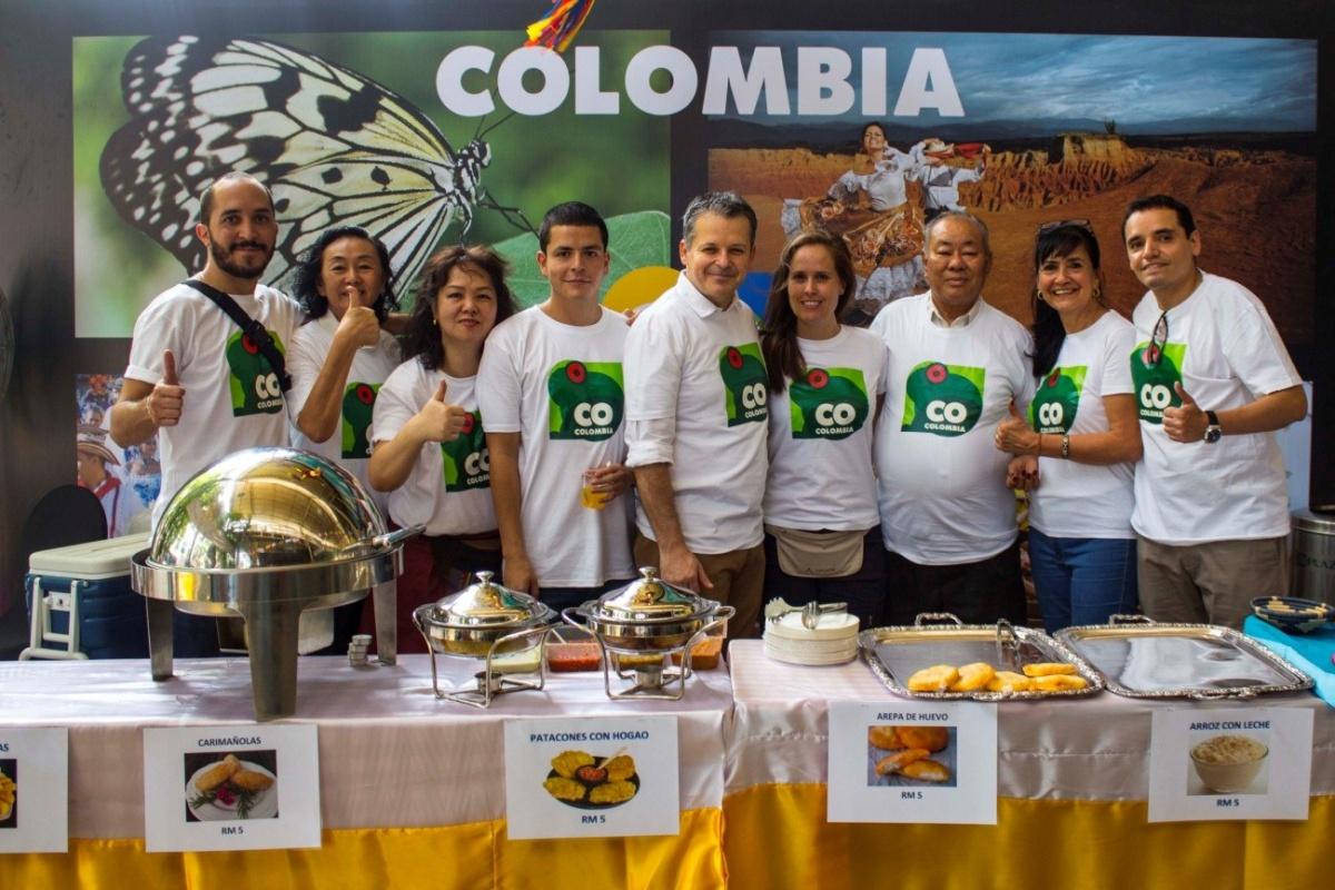 Embajada de Colombia en Malasia, Festival Cultural Latino