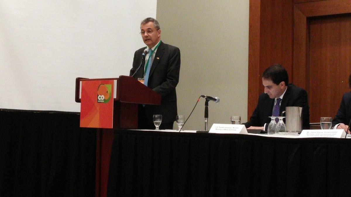 Embajador de Colombia en Canadá, Convención PDAC, sector minero