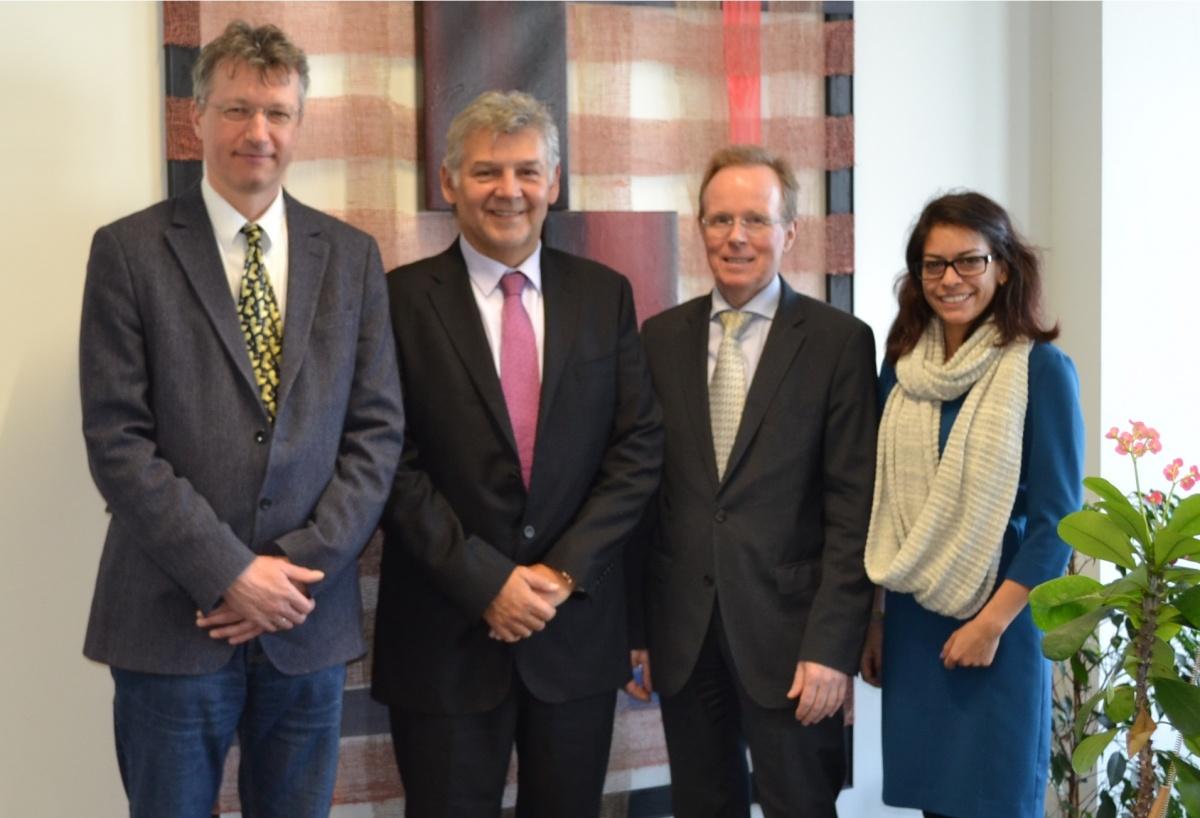 La Embajada de Colombia y la universidad de Ciencias Aplicadas Technikum de Viena buscan establecer relaciones de cooperación académica
