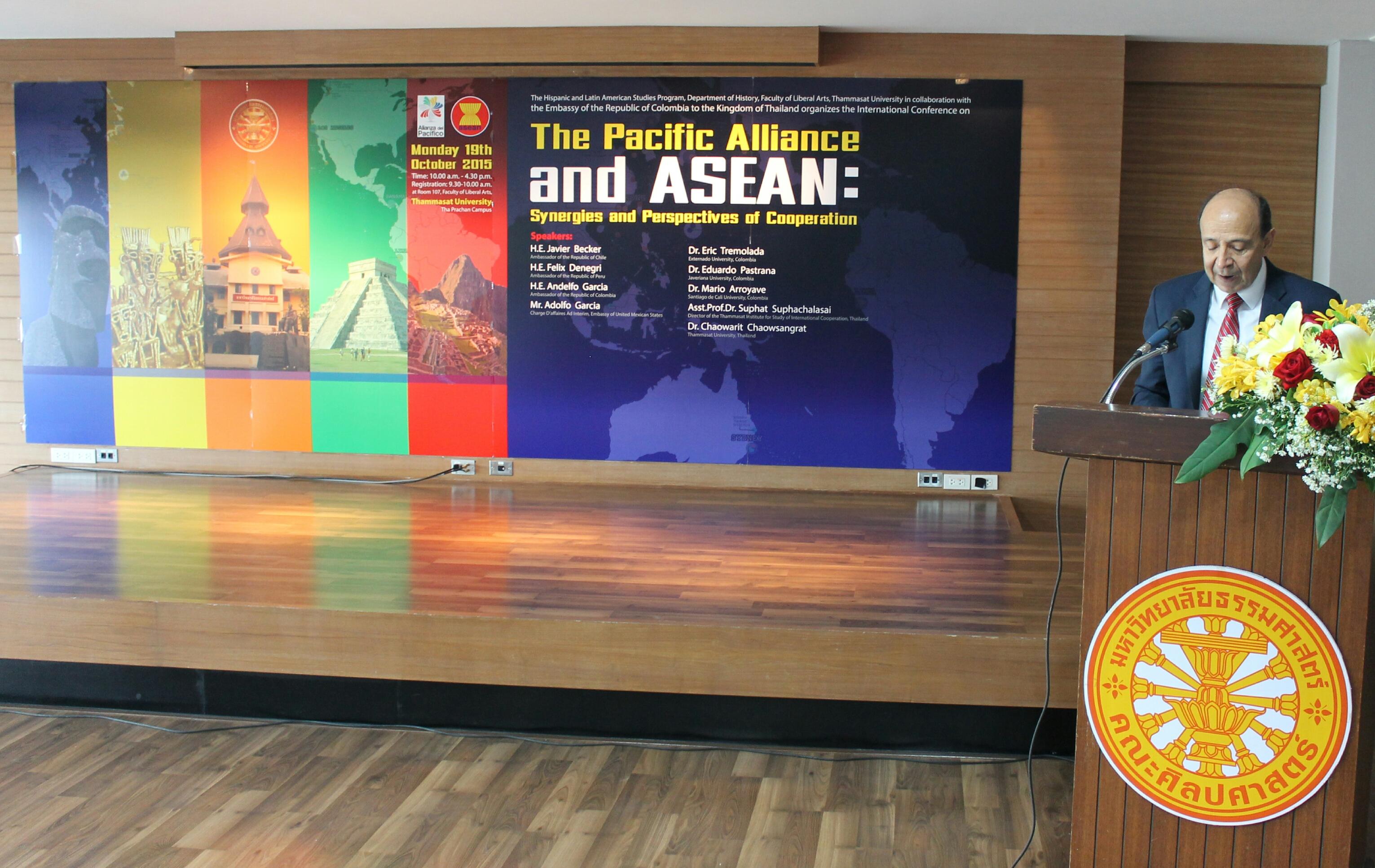 """La Embajada de Colombia en Tailandia realizó el seminario """"La Alianza del Pacífico y la ASEAN: sinergias y perspectivas de cooperación"""""""