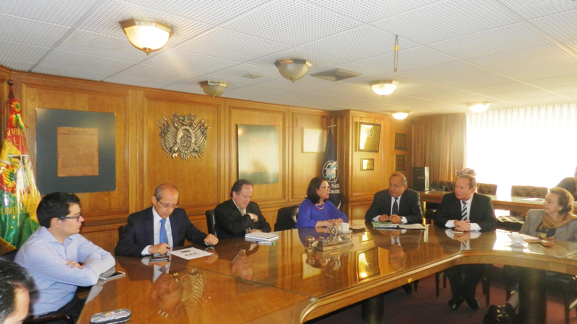 Embajada de Colombia participó en reuniones sobre oportunidades de negocio e inversión entre Colombia y Bolivia