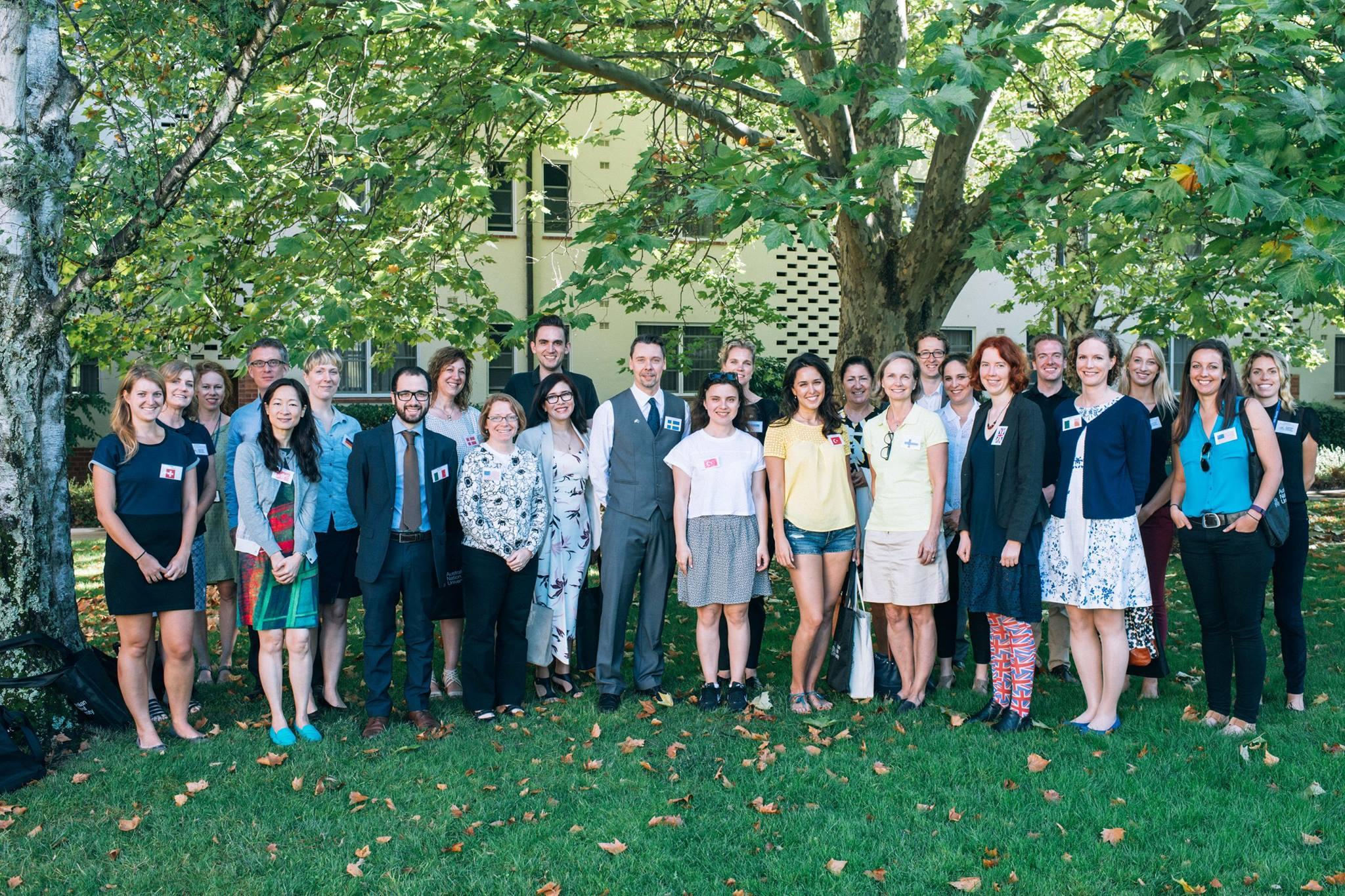 La Embajada de Colombia en Australia participó en la Feria Global de Intercambio en la Universidad Nacional de Australia