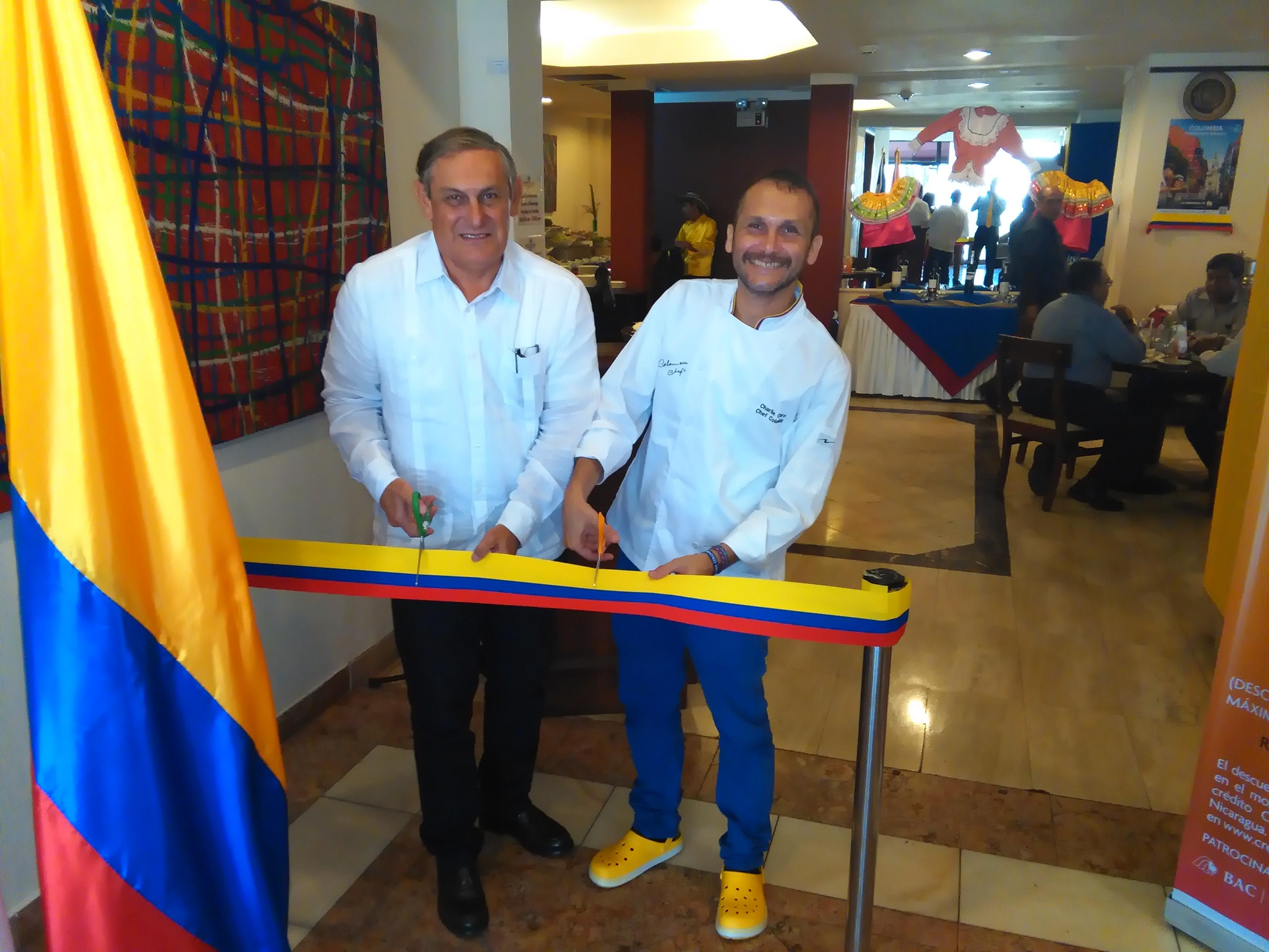 Festival Gastronómico Colombiano en Managua