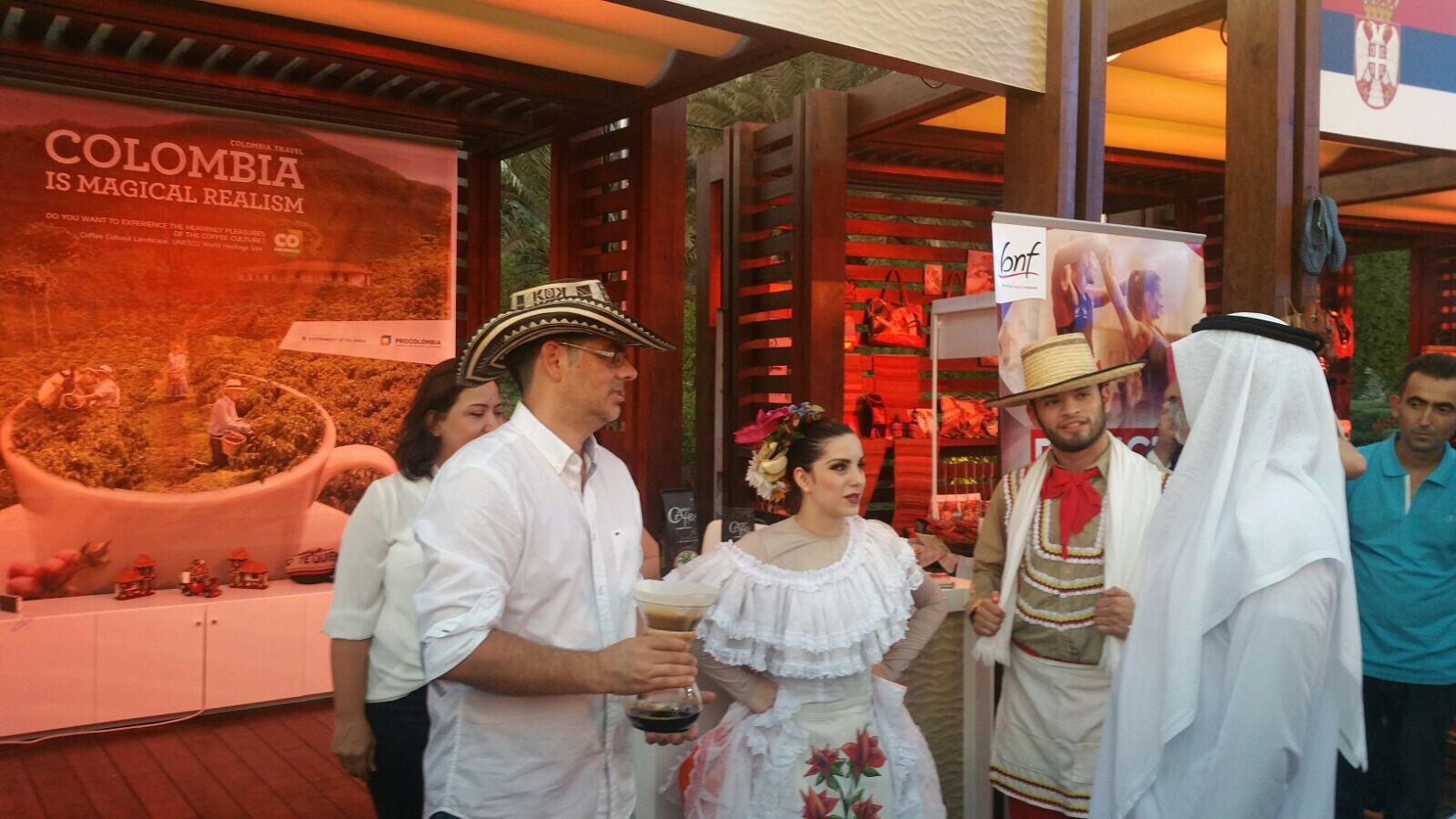 Colombia participa en la celebración del Día Nacional de los Emiratos Árabes Unidos en Dubái,