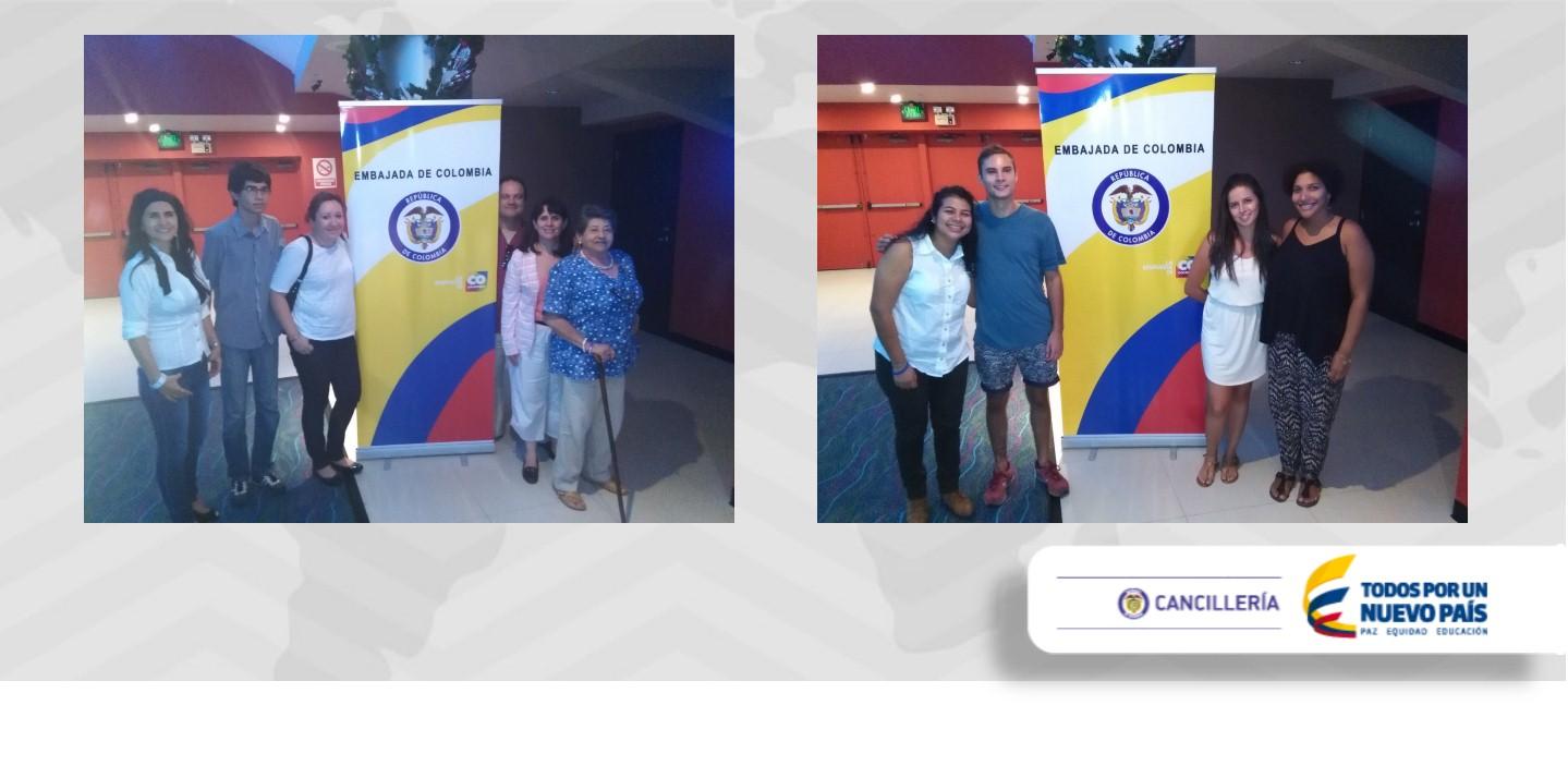 La Embajada de Colombia en Nicaragua realizó con éxito el Ciclo de Cine Colombiano 2015